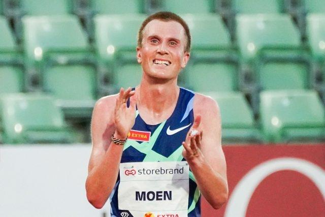 Норвежецът Сондре Моен подобри европейския рекорд в едночасово бягане на