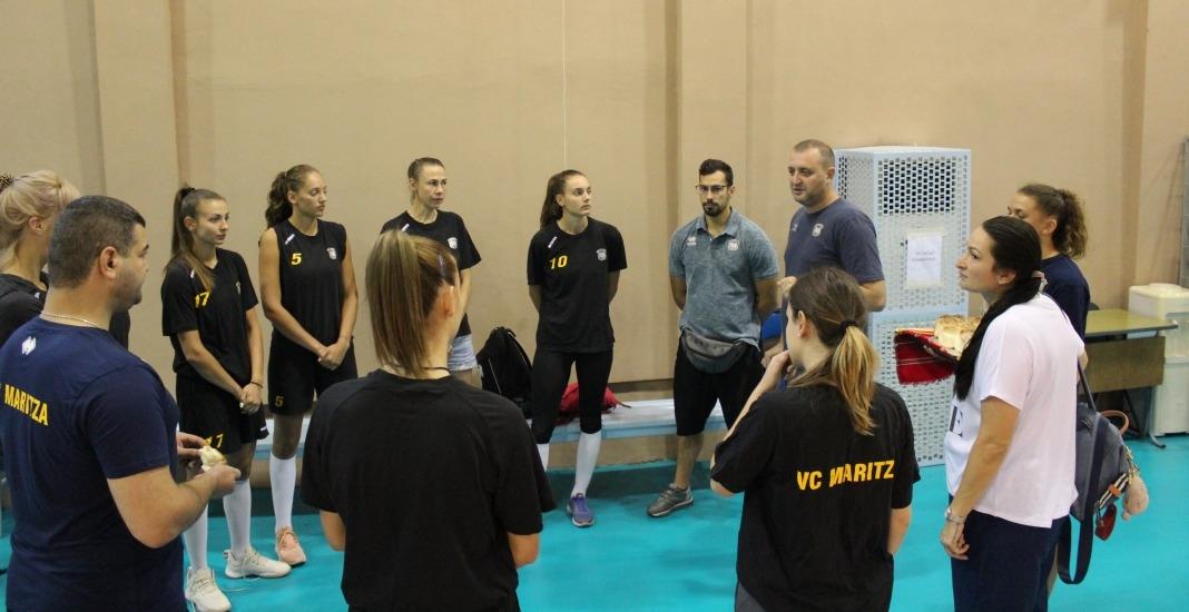 Женският волейболен шампион на България Марица (Пловдив) започна подготовка за