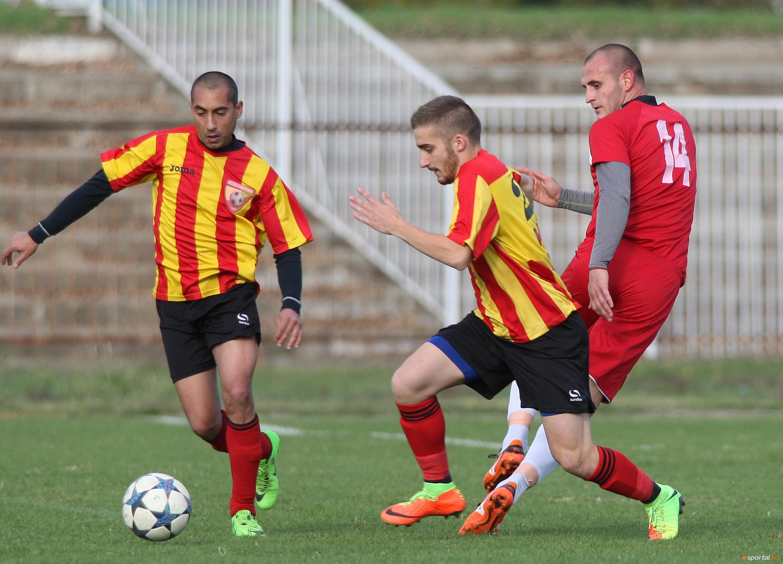 Късен гол на Стефан Гинчев в 86-ата минута донесе трите