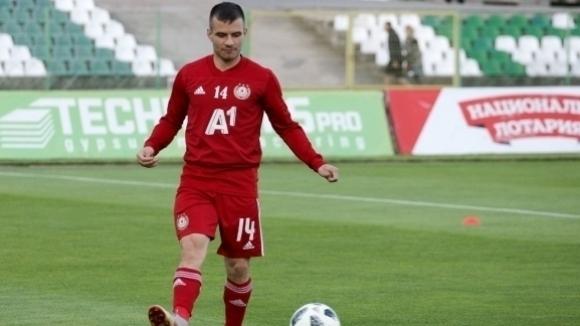 ЦСКА-София продаде Ангел Лясков на Олимпия (Любляна). Левият бек подписа