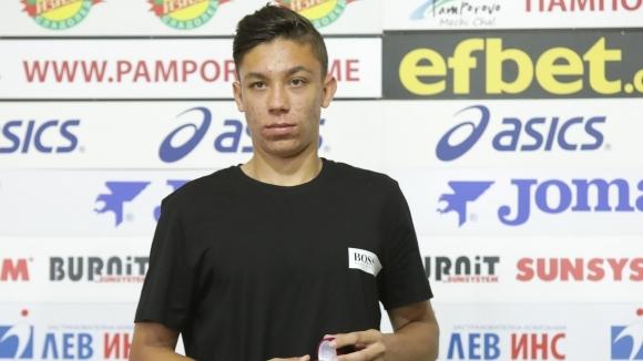 Талантът на Славия Филип Кръстев бе избран за футболист №1