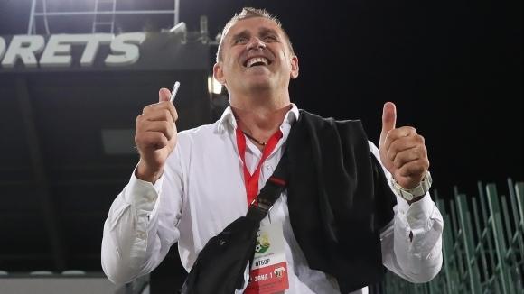 Треньорът на Локомотив (Пловдив) Бруно Акрапович потвърди, че Муса Сумаре