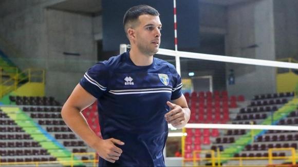 Още един българин се присъедини към италианския волейболен клуб Блу
