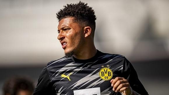 Звездата на Борусия (Дортмунд) Джейдън Санчо игра 45 минути за