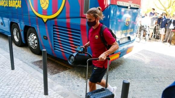 Нападателят на Барселона Антоан Гризман призна, че очаква престоят му