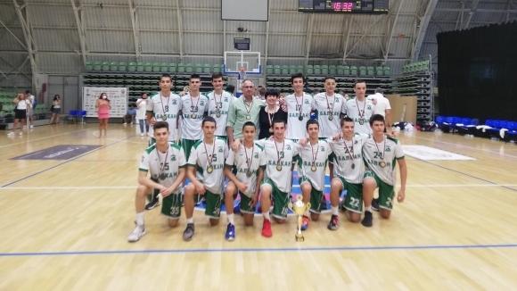 Балкан (Ботевград) е новият шампион на България по баскетбол при