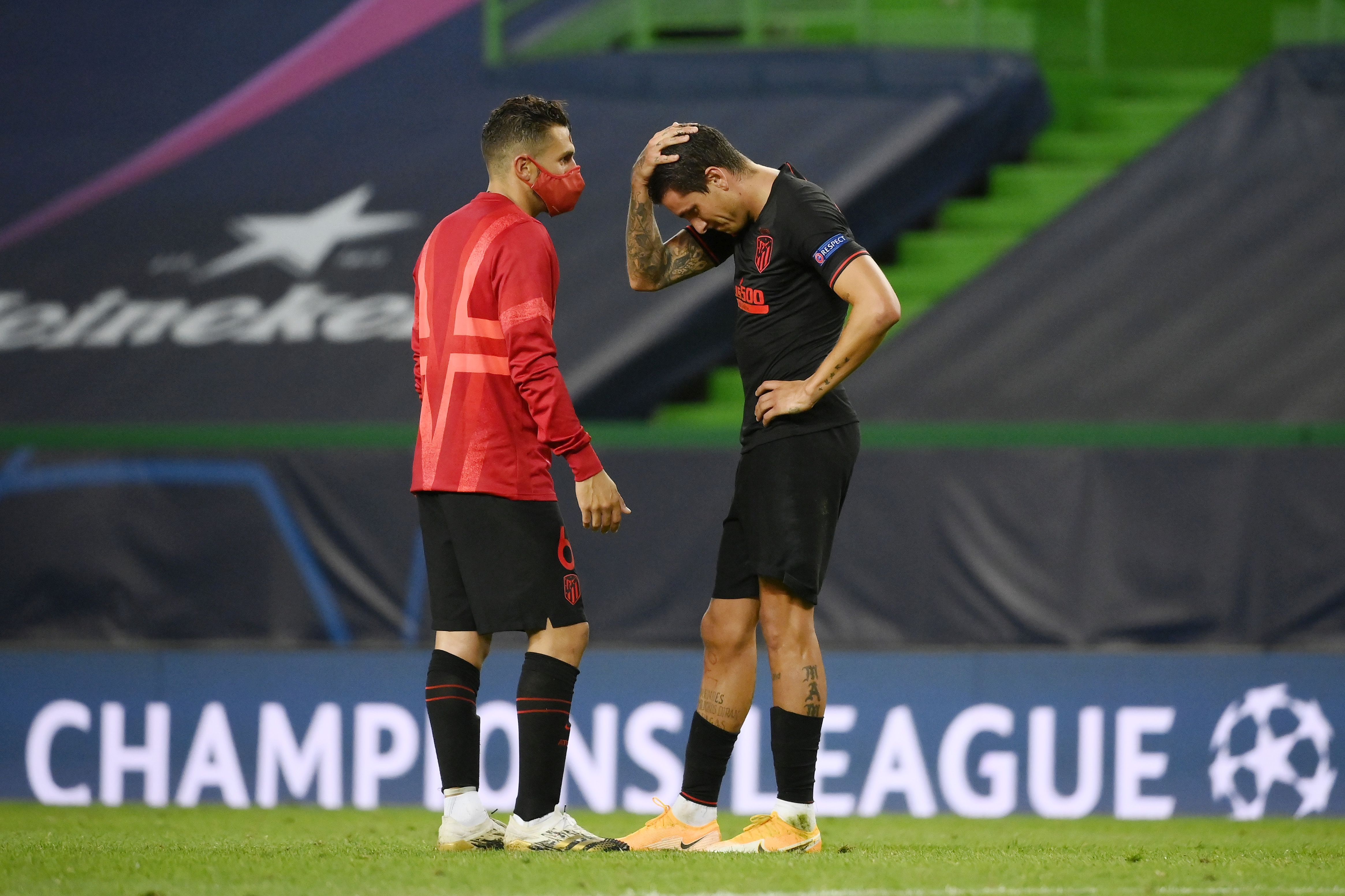 Капитанът на Атлетико Мадрид Коке не скри разочарованието си след