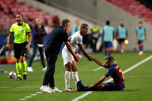 Барселона преживя истински кошмар в четвъртфинала срещу в Шампионската лига,