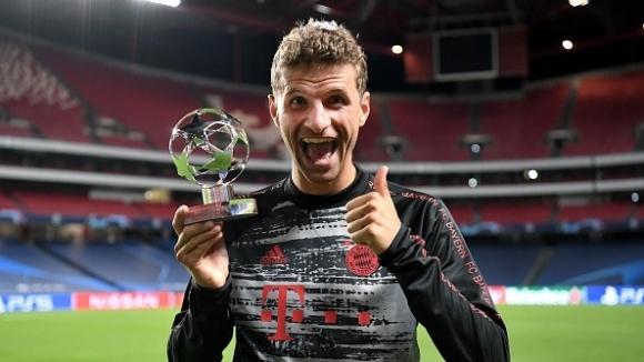 Томас Мюлер отново показа, че е футболист за големите мачове.