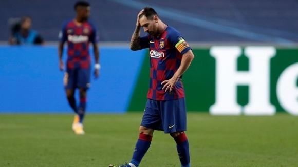 Загубата на Барселона от Байерн (Мюнхен) счупи много рекорди. Капитанът