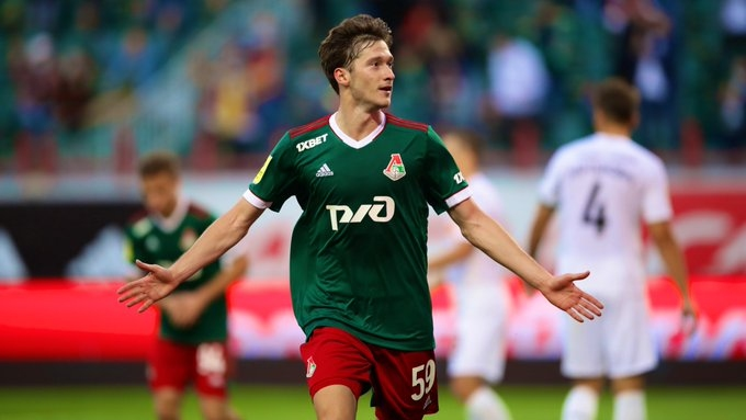 Локомотив (Москва) се наложи с 1:0 над в сблъсъка между