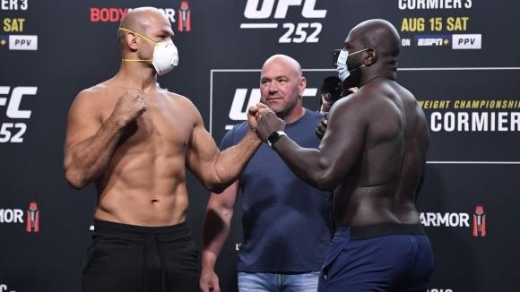 Бойците на UFC в тежка категорияЖуниор дос Сантоси Жаирзиньо Розенструик