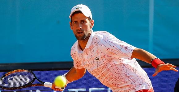 Водачът в световната ранглиста на сингъл Новак Джокович (Сърбия) отказа