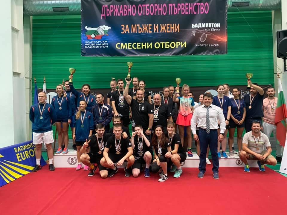 Тимът на Виктори БК София спечели титлата на държавно отборно