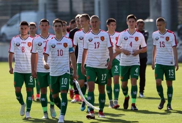 Националният отбор на България до 19 години започна участието си