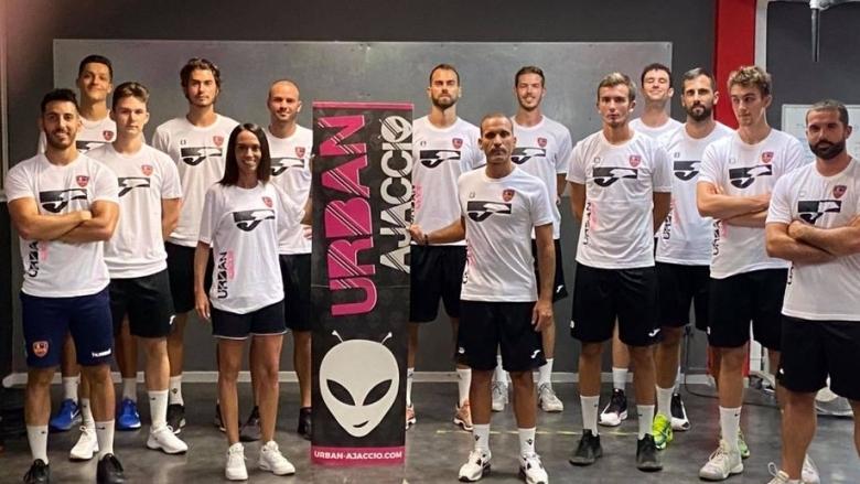 Френският волейболен тим Аячо, в чийто състав за новия сезон