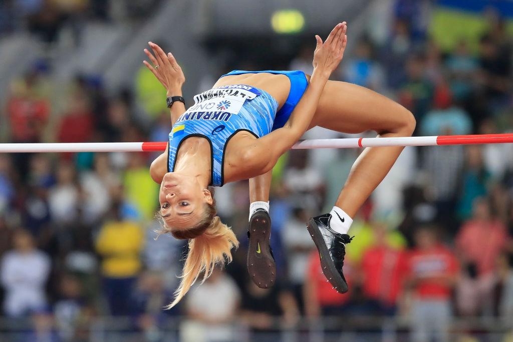 Юлия Левченко спечели украинската битка в скока на височина с