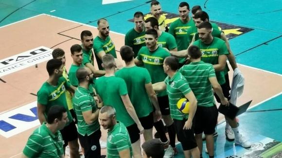 Мъжкият волейболен отбор на Добруджа 07 (Добрич) записа първи две