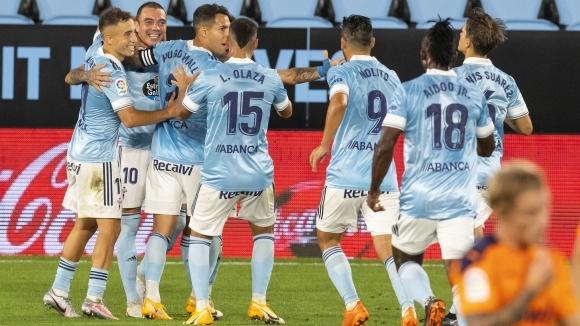 Отборът на Селта постигна първа победа през сезона, след като