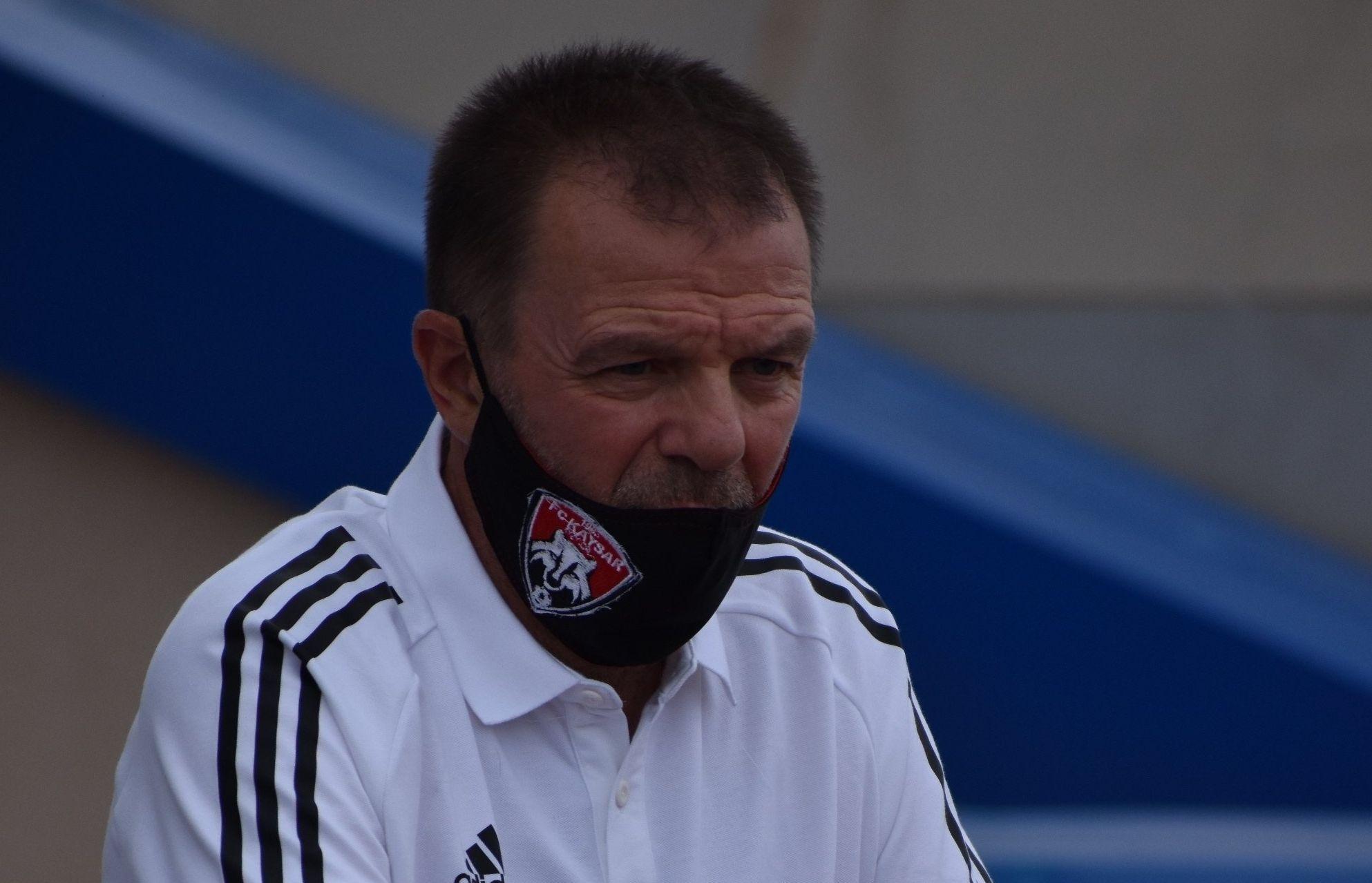 Воденият от Стойчо Младенов Кайсар завърши наравно 1:1 срещу Ордабаси
