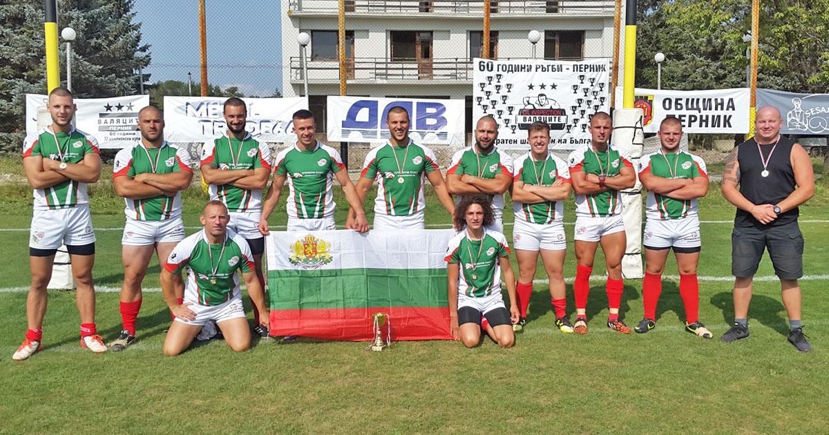 """Мъжкият отбор на """"Балкански котки"""" спечели купата на България по"""