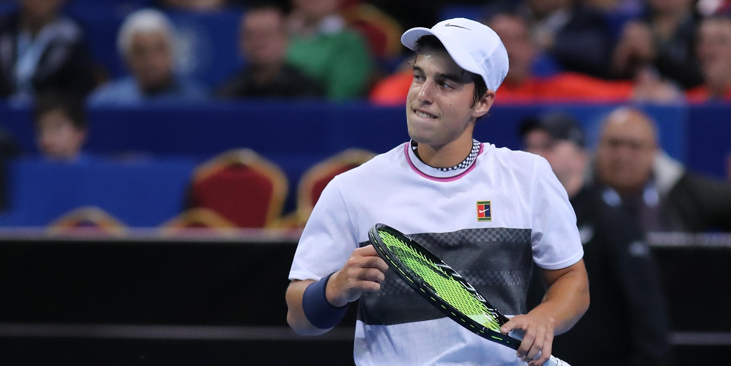 Адриан Андреев се класира за втория кръг на турнира на