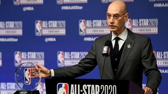 Комисарят на Националната Баскетболна Асоциация Адам Силвър не очаква новият