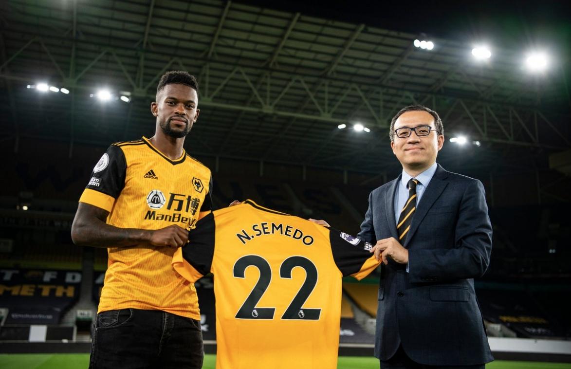 Барселона обяви продажбата на Нелсон Семедо в Уулвърхамптън. Трансферната сума