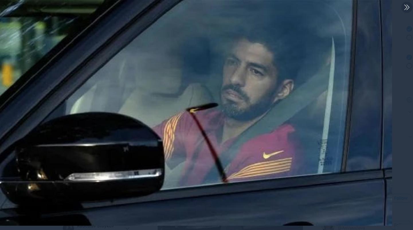 След шест години в Барселона днес Луис Суарес направи последната