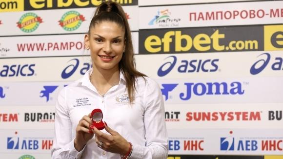 Габриела Петрова беше наградена като Спортист на месец август в