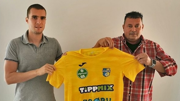 Българският атакуващ полузащитник Антонио Вутов подписа договор за три сезона