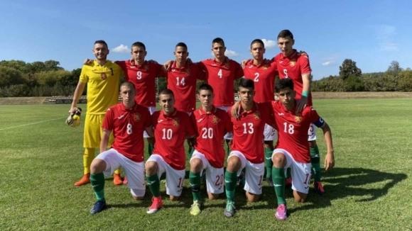 България стартира с победа на международния турнир за юноши до