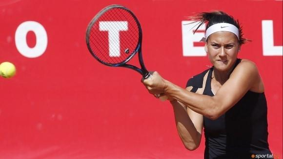 Гергана Топалова отпадна от турнира по тенис на твърда настилка