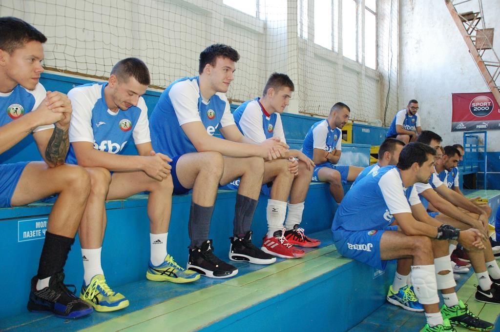 Волейболният отбор на Монтана стартира серията си от контролни срещи