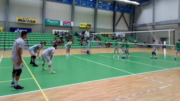 Волейболният отбор на ПСК Локомотив (Пловдив) победи като гост Берое