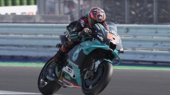 Фабио Куартараро (Petronas Yamaha SRT) записа най-доброто време в първата