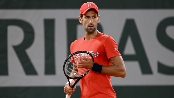 Световният номер 1 в тениса Новак Джокович не се притеснява