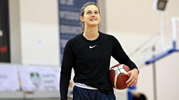 Борислава Христова продължава да няма слаб мач за своя тим