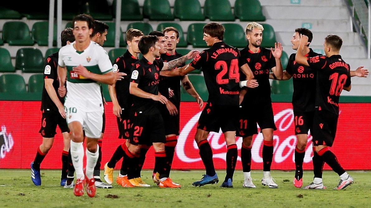 Реал Сосиедад победи гост гост с 3:0 в среща от