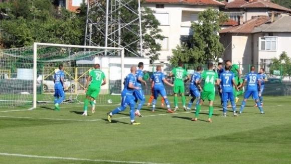 Отборът на Пирин (Разлог) победи с 1:0 като гост Оборще