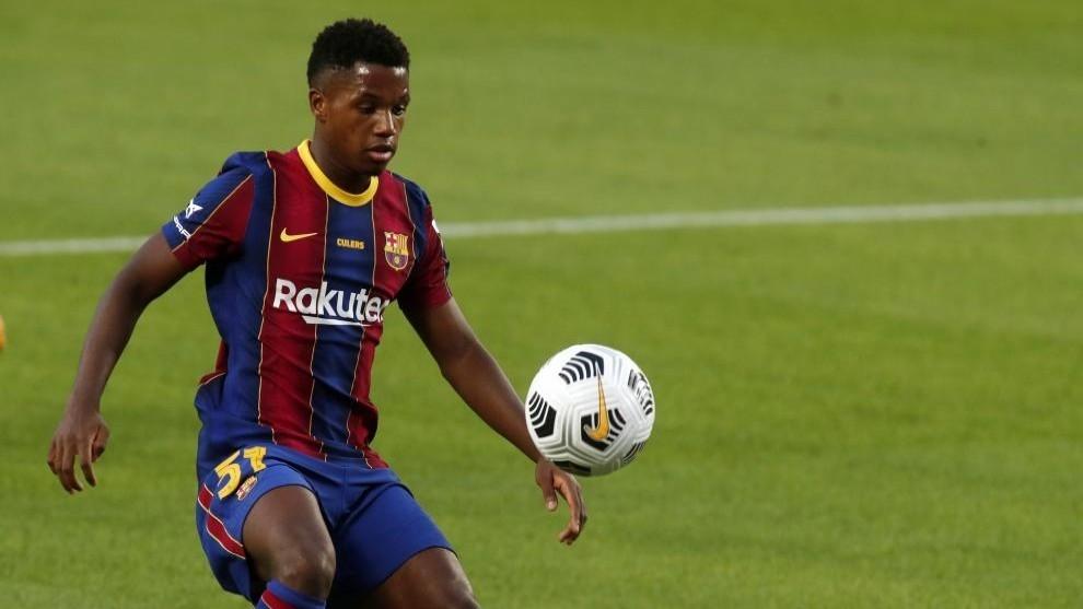 Героят за Барселона в първия мач на тима през сезона
