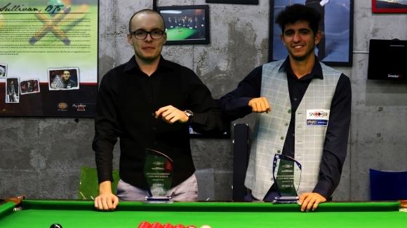 Най-добрият снукър състезател през сезона Георги Величков спечели Републиканското първенство