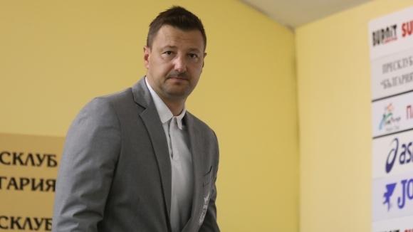 Маркетинговият директор на Пирин (Благоевград) Таско Тасков дари 100 лева