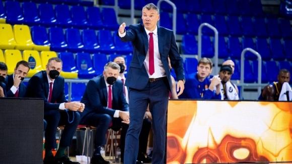 Старши треньорът на баскетболния тим на Барселона Шарунас Ясикевичус, както