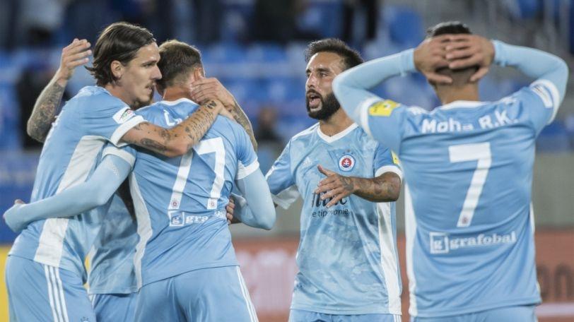 Отборът на Слован (Братислава) постигна победа с 2:1 като гост
