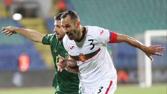 Капитанът на националния отбор Петър Занев надъха съотборниците си преди