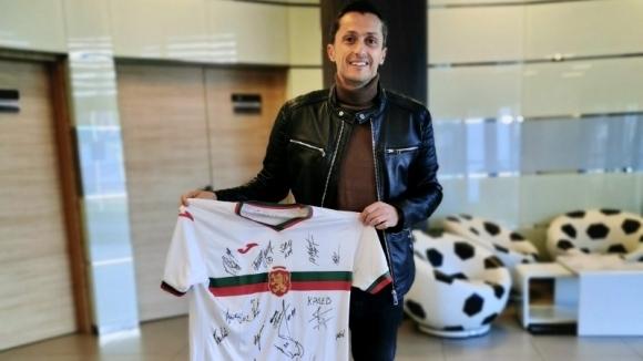 Футболистите от мъжкия национален отбор на България изразиха подкрепата си