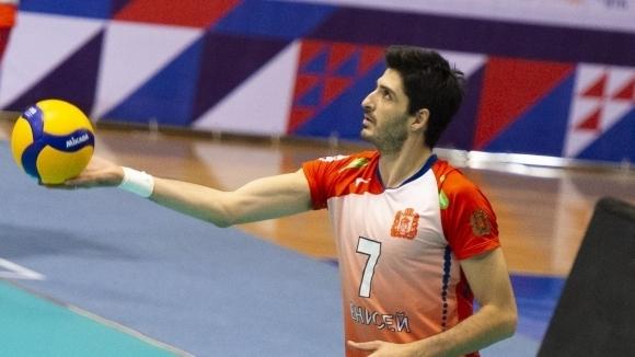 Волейболният национал Тодор Скримов попадна в Идеалния отбор на 4-ия