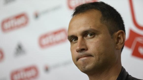 Старши треньорът на Красимир Петров коментира на пресконференция предстоящия мач