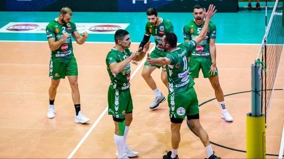 Волейболният отбор Добруджа 07 (Добрич) победи Пирин (Разлог) с 3:1
